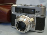 ' 2.8 50mm ' Braun Paxette Vintage Rangefinder Camera c/w 50mm 2.8 KALAGON Lens Cased -NICE- £24.99